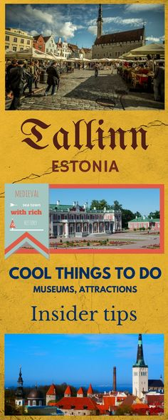 Cool things to do in Tallinn, Estonia