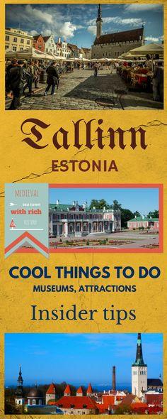 Cool things to do in Tallinn, Estonia