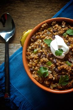 Ancho Beef and Bulgur Chili by Men's Health