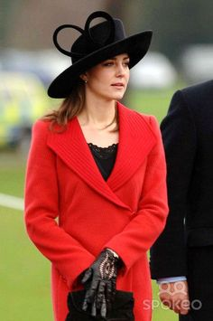 12/15/06 - It's clear Kate understands the significance in being invited to such an event, particularly because the Queen would be in attendance. Kate would not meet the Queen, but I'm sure she anticipated being pointed out by William.