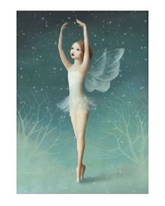 ✯ Winter Ballerina :: Artist Stephen Mackey ✯