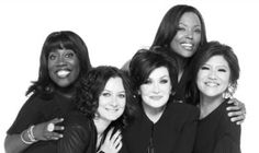 Sheryl Underwood,  Sara Gilbert, Sharon Osbourne, Aisha Tyler, and Julie Chen