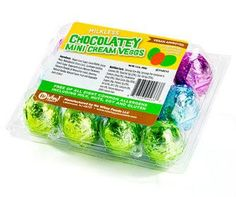 Chocolatey Mini Cream Veggs - Easter Candy