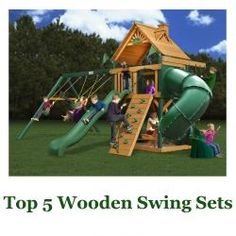 Top 5 Wooden Swing Sets Wooden swing sets for kids are becoming increasingly popular! Not only are they fun, encourage physical activity and create countless hours of...