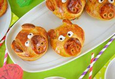 Glücksschweinderl aus Hefeteig von Ich muss backen #ichbacksmir #silvester Cupcakes, Snacks Für Party, Tacos, Muffin, Mexican, Pudding, Breakfast, Ethnic Recipes, Bakken