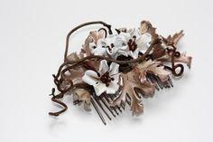 Burnished Bronze Comb