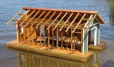 How to Build a Small Boathouse | eHow.com