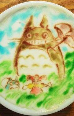 "Totoro and co. from ""My Neighbor Totoro"""