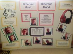 3rd grade Science Fair (How different genres of music affect your mood)