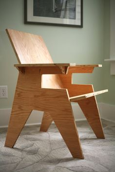 PC3 Plywood Chair 3 by Studio8O5 on Etsy, $75.00