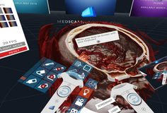 Medical Virtual & Augmented Reality for Healthcare Augmented Reality, Virtual Reality, Anatomy Models, Medical Anatomy, Human Head, Human Anatomy, Highlight, Make It Simple, Brain
