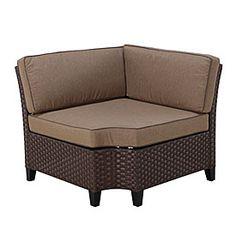 Resin Wicker Corner Sofa