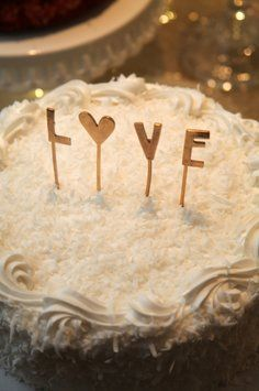 Bhldn L-o-v-e Cake Topper. Bhldn L-o-v-e Cake Topper on Tradesy Weddings (formerly Recycled Bride), the world's largest wedding marketplace. Price $20.00...Could You Get it For Less? Click Now to Find Out!