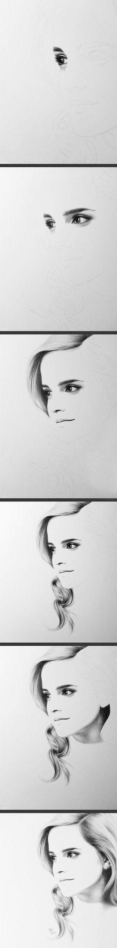 Emma Watson as Belle...