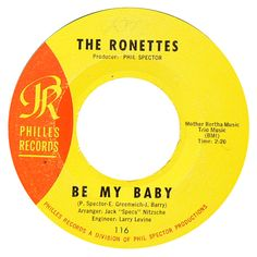Be My Baby - The Ronettes (1963)