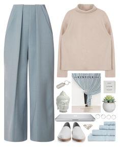 """Kinfolk"" by ritaflagy ❤ liked on Polyvore featuring Delpozo, Alexander Wang, Byredo, Cyan Design, Boohoo, Blue Luxury, Jayson Home, Chanel, women's clothing and women"