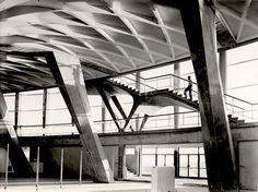 Pier Luigi Nervi, Palazzo dello Sport, Rome, Italy.