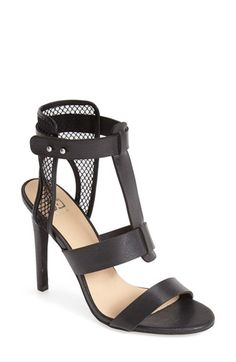 Joe's 'Rocket' Leather & Mesh Sandal (Women) available at #Nordstrom