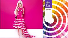 How did I not know this existed? Barbie® Pink, With a Pantone Twist! | Barbie Collector