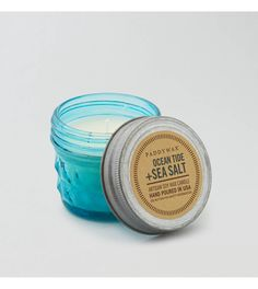 Blue Paddywax Ocean Tide & Sea Salt Mini Candle