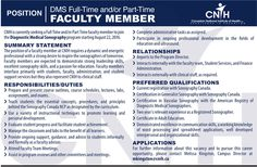 CNIH is currently seeking a  faculty member to join the Diagnostic Medical Sonography! 2016.