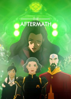 the legend of korra | The Aftermath