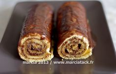 recette du gâteau roulé Tupperware, Sausage, Muffins, Brunch, Food And Drink, Sweets, Cookies, Meat, Cake
