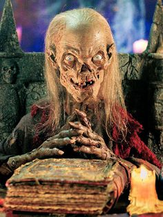 Tales From the Crypt (TV show). I watched this very late at night when reruns were on Fox. Fell in love with the Cryptkeeper cuz I'm weird. Watched this a couple years ago and wondered exactly why I couldn't predict every ending when I was 10.
