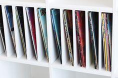 Ein Postfach macht dein Ikea Kallax zu einem Plattenregal | News | BLOG | New Swedish Design