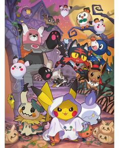 The Pokemon team Ghost Pokemon, Pokemon Fan Art, All Pokemon, Pokemon Fusion, Pokemon Halloween, Anime Halloween, Pokemon Legal, Pokemon Memes, Manga