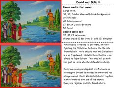 Flannel Graph Cheat Sheets | Bible Songs And More :David
