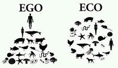 eco - the way it's suppose to be. The only way we will respect the world in which we live, and therefor not destroy it.