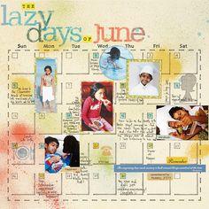 Homemade Calendar Pages