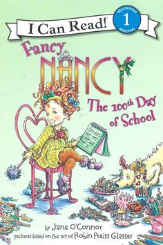 Fancy Nancy can not find anything to represent the 100th day of school. She wants it to be imaginative! Can Fancy Nancy think of something in time? This book...