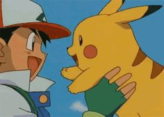 Ash and Pikachu, a bond that cannot be broken!
