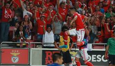 Samaris foi o 5º jogador grego a marcar pelo SL Benfica, depois de Katsouranis - Karagounis - Fyssas - Mitroglou.