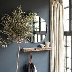 Simple Tips: Oversized Wall Mirror Color Schemes wall mirror bedroom full.Wall Mirror Interior Design wall mirror with shelf vintage. Wall Mirrors Entryway, Entryway Mirror, Rustic Wall Mirrors, Living Room Mirrors, Hallway Shelf, Wall Mirror With Shelf, Mirror Bedroom, Vintage Mirrors, Living Rooms