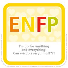 ENFP - ideal Valentine's Day