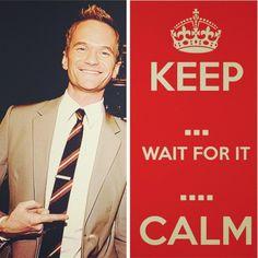 Barney Stinson is ...wait for it... legendary  #HIMYM