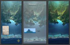 Concept Arts do filme Moana, nova produção do estúdio Disney | THECAB - The Concept Art Blog