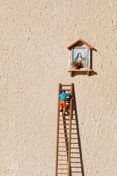Miniature Street by Slinkachu