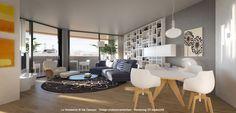 Proposta di arredo per l'appartamento 8.2 offerta in esclusiva da Le Residenze di via Campari, Sesto. http://www.leresidenzediviacampari.it
