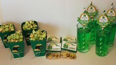 St.-Patrick's-Day-Treats 1 popcorn, challenges, party treats, parti treat, parties, green, crafts, cricut blog, craft rooms