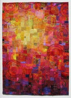 quilt by Carol Taylor titled Sunlit