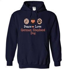 peace love GERMAN SHEPHERD DOG I love my GERMAN SHEPHERD DOG - #mens hoodies #cool hoodies for men. CHECK PRICE => https://www.sunfrog.com/Pets/peace-love-GERMAN-SHEPHERD-DOG-I-love-my-GERMAN-SHEPHERD-DOG-9957-NavyBlue-17517920-Hoodie.html?60505