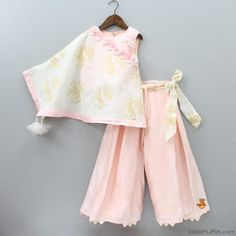 Indian Wear, Ethnic Wear for Girls Girls Designer Dresses, Dresses Kids Girl, Kids Outfits, Baby Dresses, Kids Indian Wear, Kids Ethnic Wear, Frocks For Girls, Kids Frocks, Baby Dress Design
