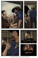 Lone Ranger Page 2 Color by BlackWolfStudio