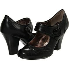 Sofft Fiona vintage style wingtip-inspired mary jane heels, $90.00