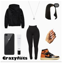 Baddie Outfits Casual, Swag Outfits For Girls, Teenage Girl Outfits, Cute Swag Outfits, Teenager Outfits, Dope Outfits, Girly Outfits, Trendy Outfits, Fashion Outfits