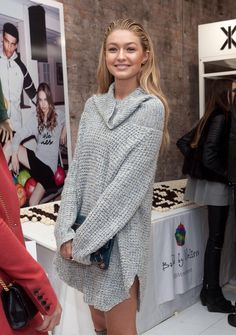 hadidrichiebaldwin:  Gigi at the OnePiece New York Concept Store Grand Opening at NYC 11.7.14